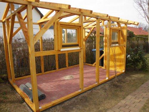 Hollywoodschaukel Holz Selber Bauen Bauplan ~ Gartenhaus selber bauen  Kleingartengestaltung  kleingarten ideen de