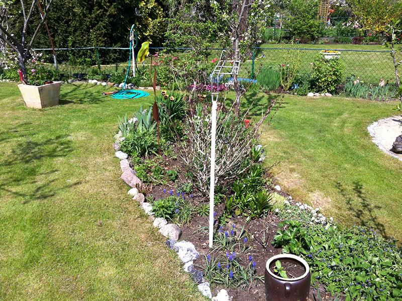 Gartenarbeit Mai